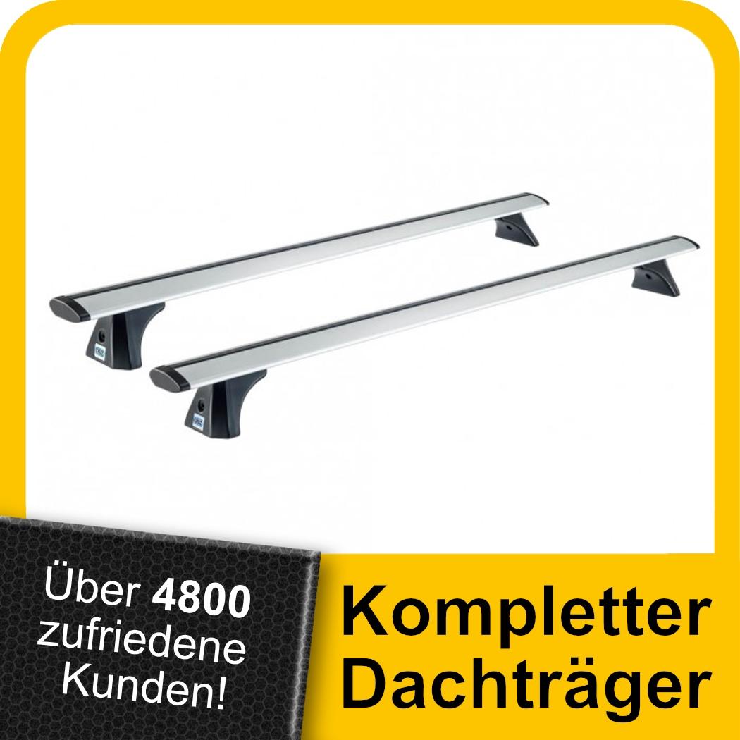 Für Mercedes A-Klasse W176 5-Tür ab 12 Stahl Dachträger Fahrzeugspezifish Kpl.