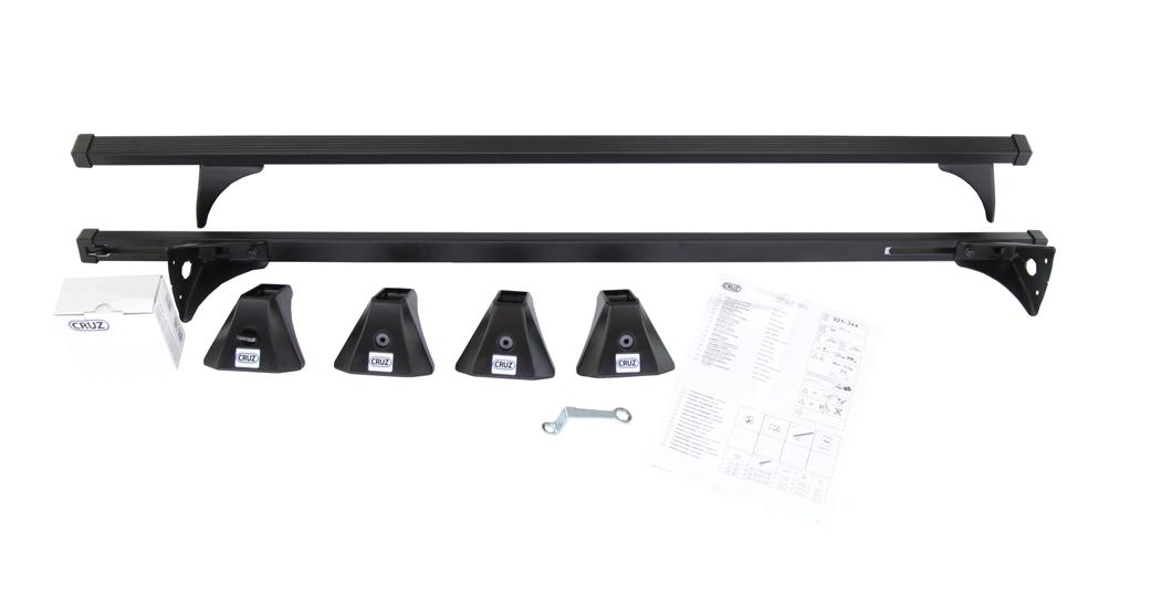 EBA für Suzuki Celerio Typ LF NEU kpl Dachträger Stahl inkl Menabo Tema