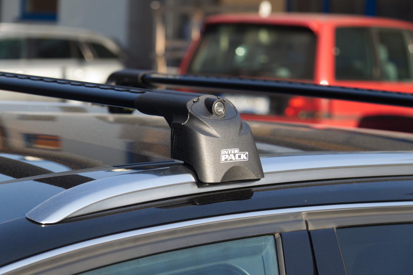 Aluminium Schwarz Dachträger für Renault Kadjar ab 15 auch Glasdach kpl XT BL-IR