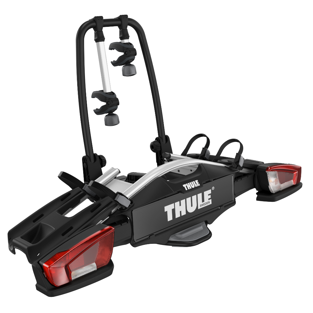 thule velocompact 2 fahrradtr ger f r 2 fahrr der f r anh ngerkupplung ebay. Black Bedroom Furniture Sets. Home Design Ideas