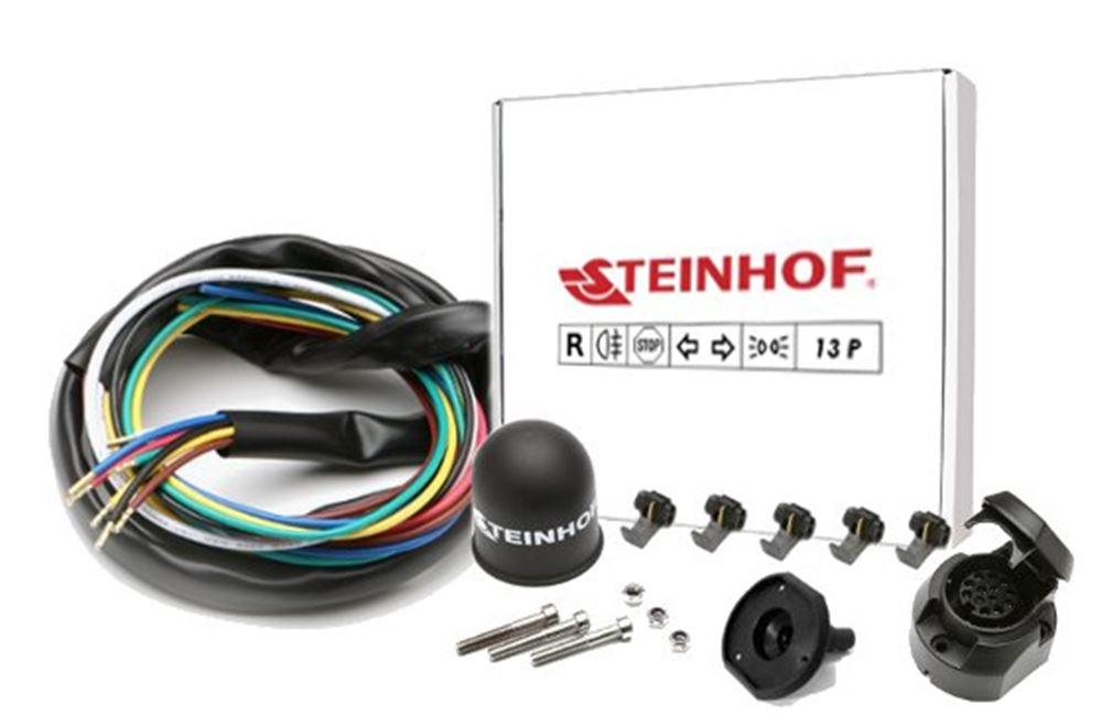 Für Peugeot 307 Kombi//SW Anhängerkupplung starr+ES 13p ABE