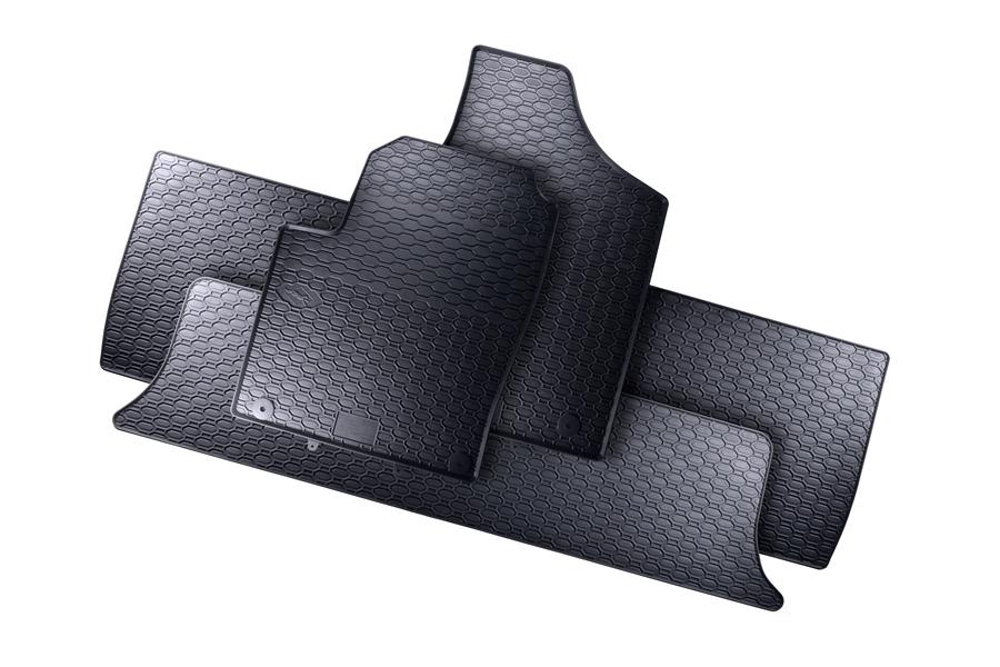 7 Sitzer 95-06 Gummimatten Fußmatten Spezifisch Kpl. Für Ford Galaxy I WGR