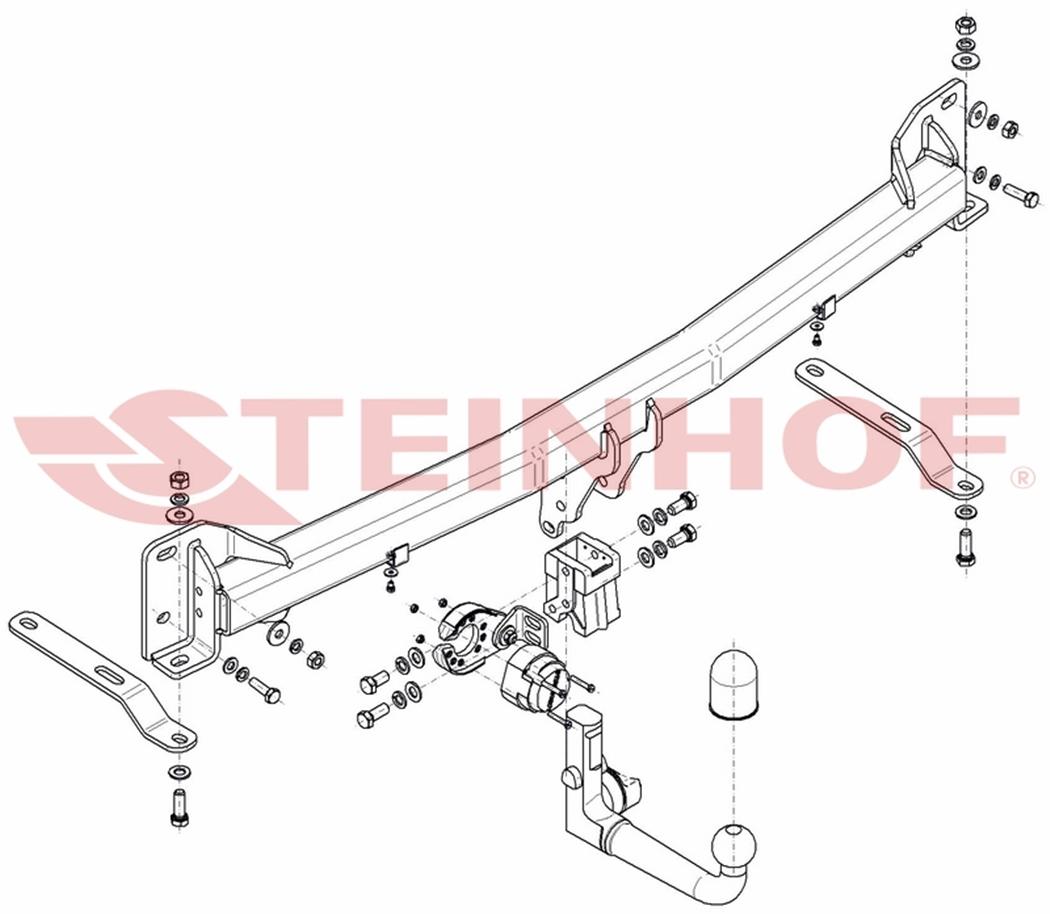 Ford-Explorer-de-16-Attelage-detach-faisc-13b-uni-Compl miniature 5
