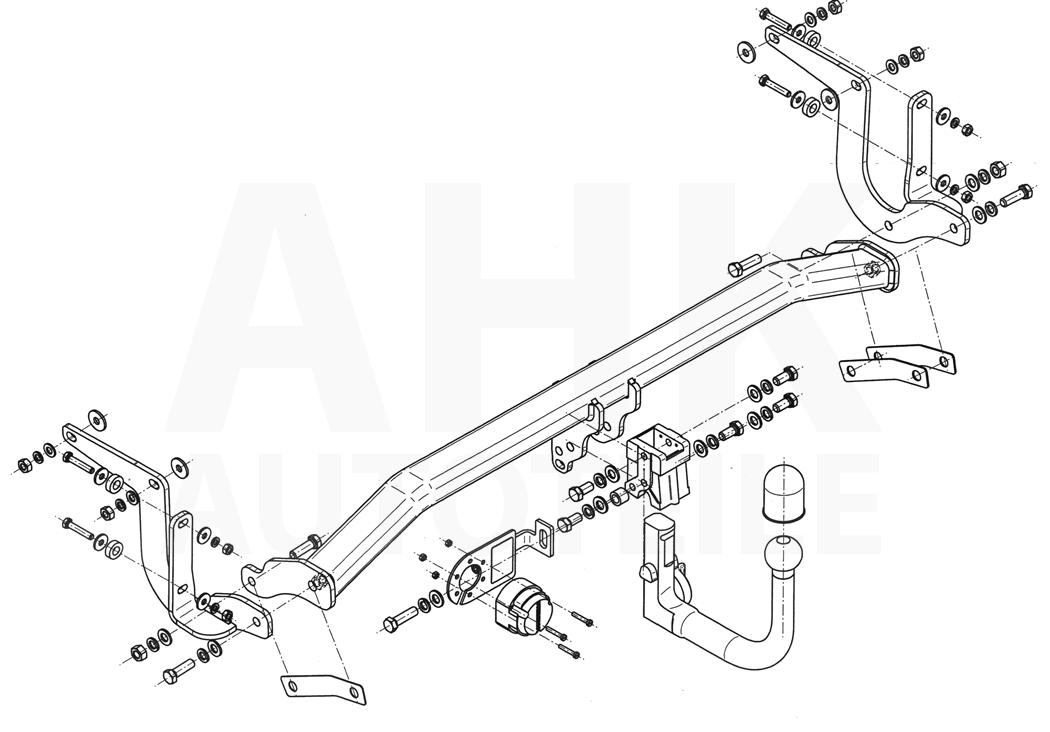 Peugeot-308-Break-SW-de-14-Attelage-demontable-faisceau-7-broches-uni-Compl