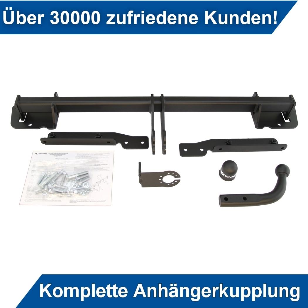 Anhängerkupplung AHK starr Für VW LUPO 3-Tür 1998-2005 QUALITÄT