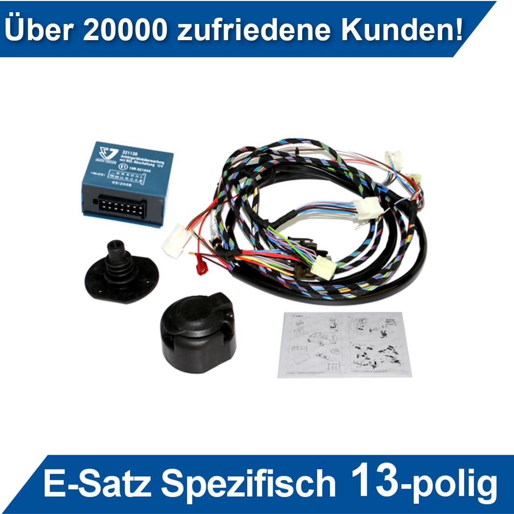 Für Ford Transit 00-14 Kastenwagen und Bus Elektrosatz spez 13pol kpl